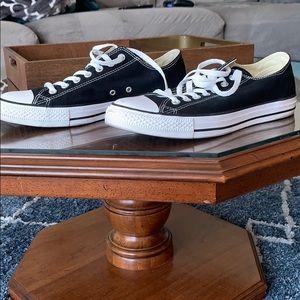 Black Converse size 9 men's size 11 women's